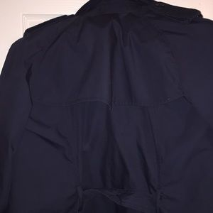 Something Navy Jackets & Coats - Brand New Women's Blue Trench Coat